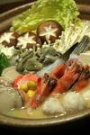 牡蠣土手鍋 クリックすると大きく奇麗な写真が見れます!