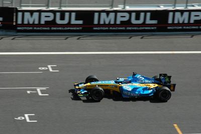 F1のデモラン