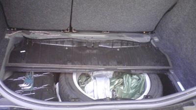 メガーヌのトランク