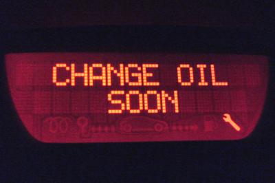 CAHNGE OIL SOON