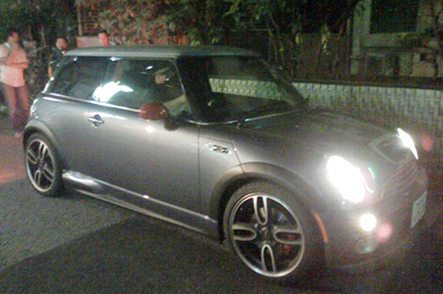 MINI Cooper S withJCW GP