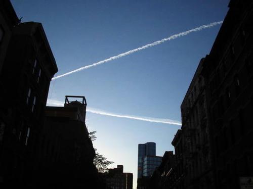lines in sky