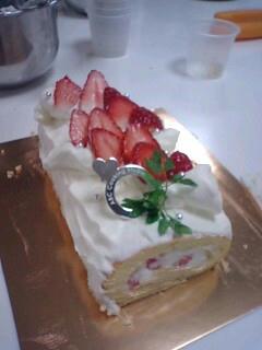 ケーキ作り体験