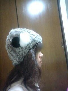 ファー帽子☆