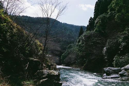 京都 嵐山 清滝