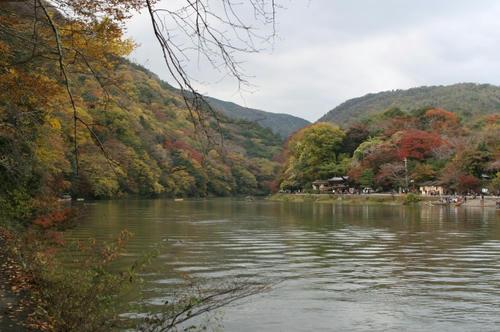 嵐山 桂川(保津川) 紅葉