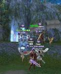 WG様、リティクス様、Yuki月様と私。