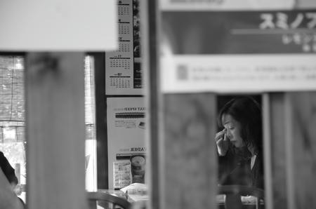 喫茶店内Snap shot