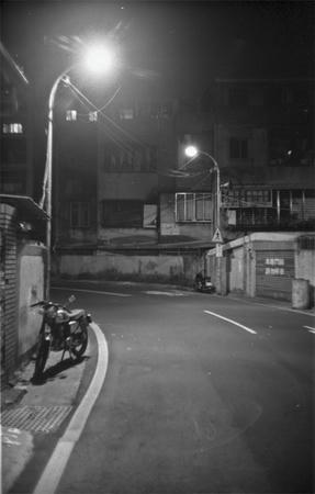 板橋の夜道
