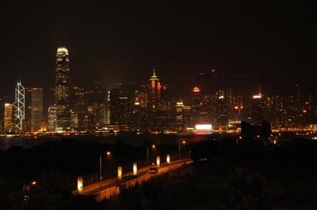 九龍島から香港島