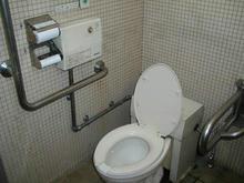 狭山自然公園 突堤北多目的トイレ