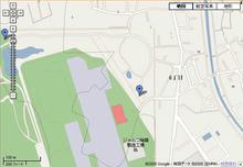 武蔵野の森公園 掩体壕トイレ