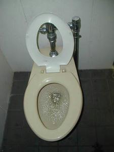 深大寺 鬼太郎茶屋横トイレ