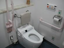 ルミエール府中 2階多目的トイレ