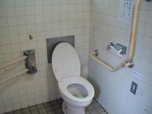 大南公園 パンダ多目的トイレ