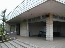 流域下水道処理場広場トイレ