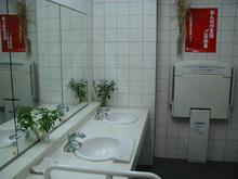 府中市観光情報センター 外トイレ
