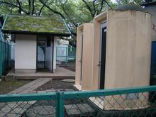 武蔵国分寺跡 墓地トイレ