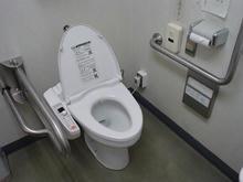 宮町図書館多目的トイレ