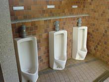 村上貯水池 突堤北トイレ