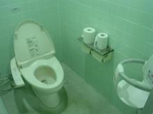 モリタウン外 星の道トイレ