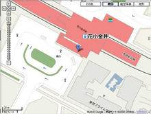 花小金井駅 南口駅前トイレ