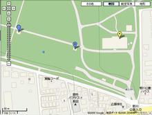野川公園 駐車場東