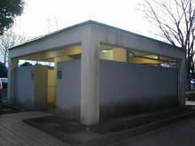 野川公園 駐車場東トイレ