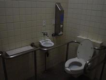 野川公園 駐車場東多目的トイレ