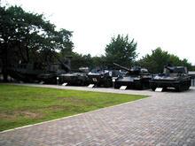 陸上自衛隊広報センター 裏庭