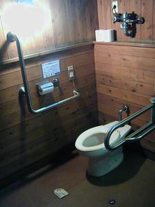 昭和記念公園 森の家多目的トイレ