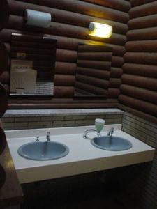 昭和記念公園 雲の海トイレ