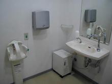 多摩平の森ふれあい館 1階多目的トイレ