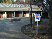 多磨霊園 休憩所