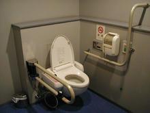 アイガーデンテラス 1階多目的トイレ