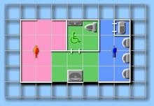 紅葉山公園トイレ見取り図