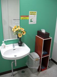 カシコシュ東久留米店 2階多目的トイレ