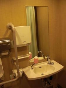 新宿三越アルコット 地下3階多目的トイレ