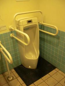 サンドラッグ下石原店 外トイレ