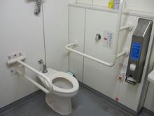 旧岩崎邸庭園 入場口横多目的トイレ