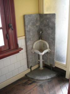 旧岩崎邸庭園 洋館2階トイレ