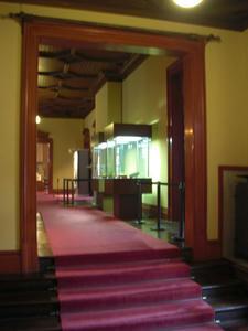 旧岩崎庭園 洋館2階