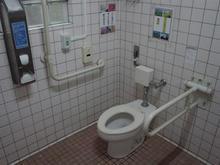 殿ヶ谷戸公園 外公園多目的トイレ