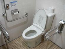コープ牟礼店多目的トイレ