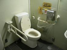 向台市民運動場多目的トイレ