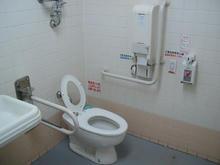 いなげや田無芝久保店多目的トイレ