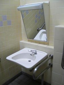 潮風公園 街と海のプロムナード多目的トイレ