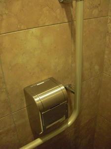 遊就館 玄関ホールトイレ