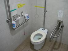 江戸東京たてもの園 西ゾーン多目的トイレ