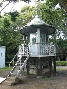 江戸東京たてもの園 東ゾーン 上野消防署鐘楼上部